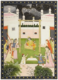 KRISHNA ON A SWING, MANDI, 182