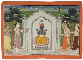 JAGGARNAT, MANDI, CIRCA 1740