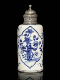 A KANGXI BLUE-AND-WHITE EXPORT