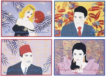Four works: Ahmed Zaki, Suad H