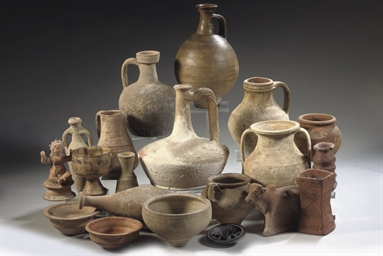 A GROUP OF CLASSICAL POTTERY V