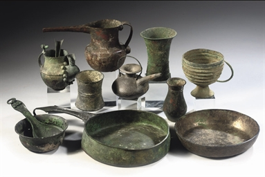 GROUP OF MISCELLANEOUS BRONZE