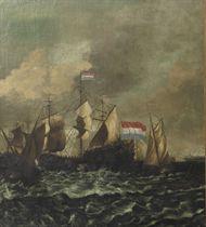 A naval battle