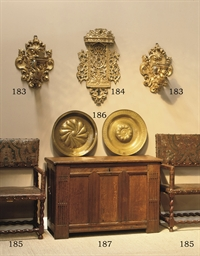 A CARVED GILTWOOD ALTAR