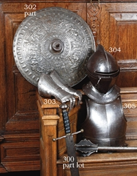 A FLEMISH CLOSE HELMET FOR THE