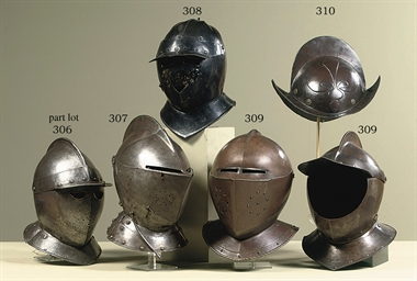 A FLEMISH COMPOSITE CLOSE HELM