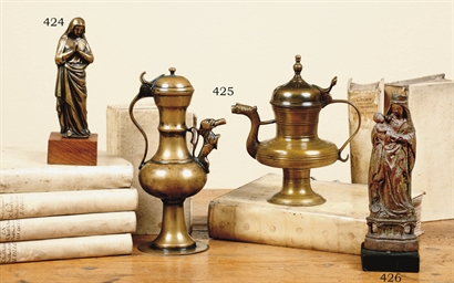 BRASS WINE FLAGON