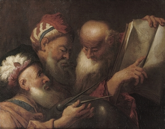 Three Astronomers