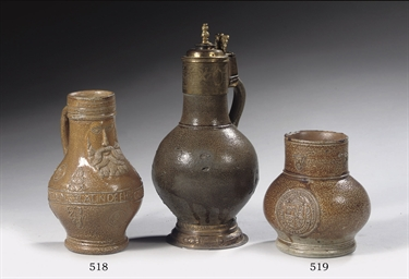 A Rhenish stoneware armorial j
