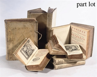 TEN VARIOUS BOOKS IN VELLUM BI