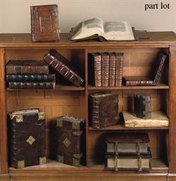 A LOT OF NINE VARIOUS BIBLES