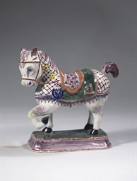 A DUTCH DELFT POLYCHROME MODEL