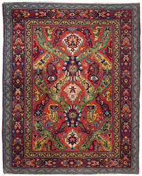 An unusual Erevan rug of Drago