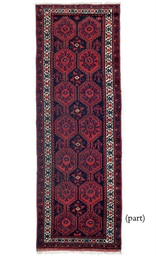 A long Kurdish rug and a Senne