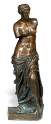 AN ITALIAN BRONZE FIGURE OF TH