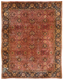 A European carpet of Agra desi
