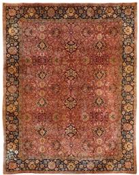 A European carpet of Agra desi
