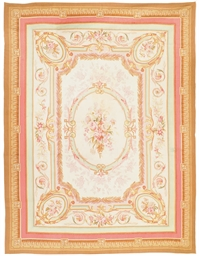 A fine Aubusson styled carpet