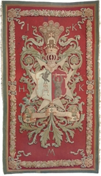 AN AUBUSSON PANEL