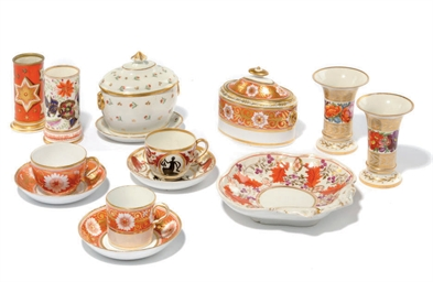 A QUANTITY OF ENGLISH PORCELAI