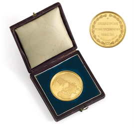 A Gold Medal from the Imperial