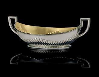 A Silver Two-Handled Bowl