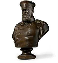 A Bronze Bust of Emperor Alexa