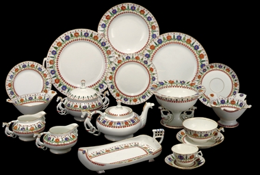 A Porcelain Table Service