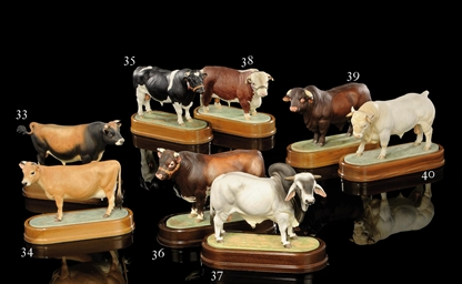 A MODEL OF A 'JERSEY COW'