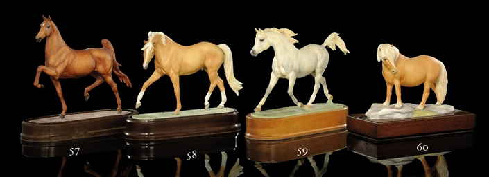 A MODEL OF AN 'ARAB STALLION'