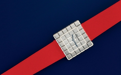 A Lady's 18 Carat Gold Quartz