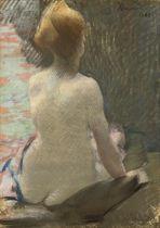 Femme nue vue de dos