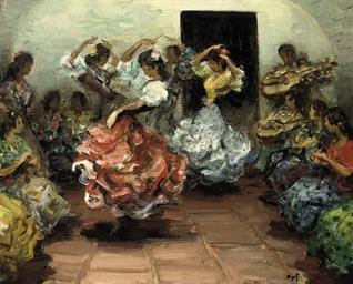 Danseurs flamenco