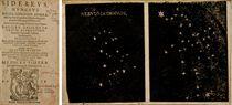 GALILÉE (1564-1642). Sidereus, Nuncius Magna, Longeque admirabilia Spectacula pandens... Apprime vero in Quatuor Planetis circa Iovis Stellam disparibus. Francfort: [Zacharias] Palthenius, 1610.