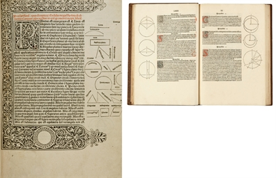 [INCUNABLE] -- EUCLIDE (actif