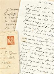 CHAR, René (1907-1988). Lettre