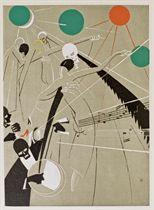 [DYL] -- MAC ORLAN, Pierre (1880-1970). La Danse macabre. Paris: Simon Kra, 1927.
