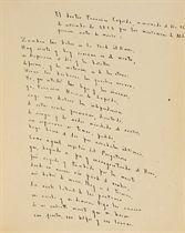 [RUSSO] -- BORGES, Jorge Luis (1899-1968). Poema conjetural. Buenos Aires: 17 novembre 1954.