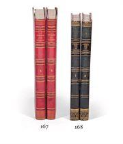 [STENDHAL, Henri Beyle, dit (1783-1842)]. Mémoires d'un touriste, par l'auteur de Rouge et Noir. Paris: Ambroise Dupont, 1838.