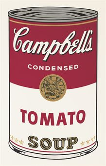 andy warhol Tomato, from Campbell's Soup I (F. & S. II.46)