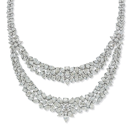A DIAMOND NECKLACE, BY NSOULI