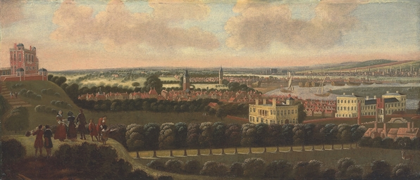 View of Greenwich Park, lookin