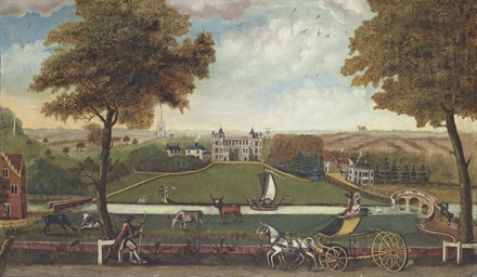 View of Audley End, Essex, fro
