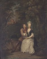 Lovers in a Glade