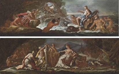 The Triumph of Galatea; and Ci