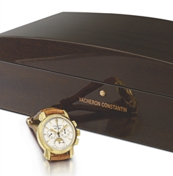 Vacheron Constantin A very fine and large 18K gold perpetual...