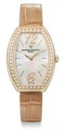 Vacheron Constantin A lady's fine 18K pink gold and diamond-...
