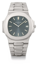 Patek Philippe A rare stainless steel automatic wristwatch w...