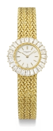 Vacheron Constantin A lady's fine 18K gold and diamond-set b...