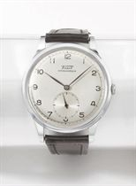 Tissot. A large stainless steel wristwatch